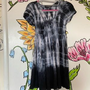 Twenty One Scoop neck Tie Dye mini dress